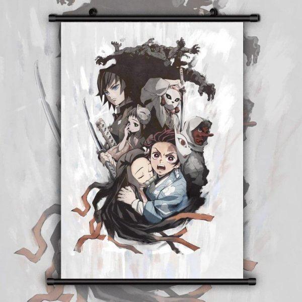 Demon Slayer Scroll Poster