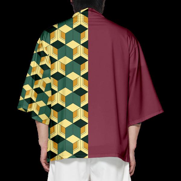 Demon Slayer Kimono Giyu Tomioka Pattern