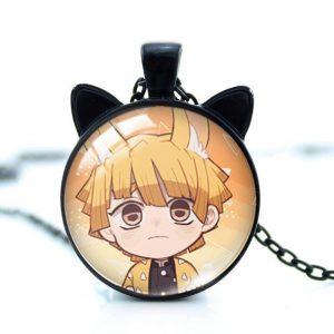 Demon Slayer Necklace </br> Neko Zenitsu