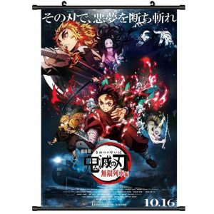 Demon Slayer Wall Scroll Movie