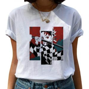Demon Slayer T-Shirt  Tanjiro Pattern