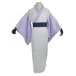 Demon Slayer Cosplay Zenitsu Bathrobe