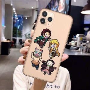 Demon Slayer iPhone Case </br> The 4 Cute