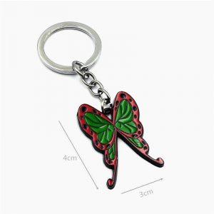 Demon Slayer Keychain </br> Kanao Tsuyuri Butterfly