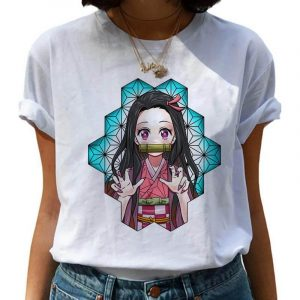 Demon Slayer T-Shirt  Obanai Iguro Pattern