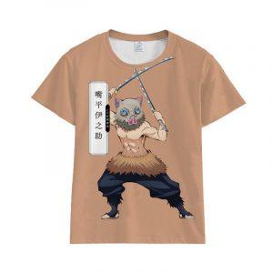 Demon Slayer T-Shirt Inosuke Hashibira