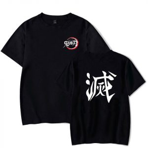 "Demon Slayer T-Shirt  ""Destroy"" Kanji"