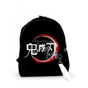 Demon Slayer Backpack </br> Kimetsu no Yaiba Logo