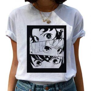 Demon Slayer T-Shirt  Zenitsu Haori Pattern
