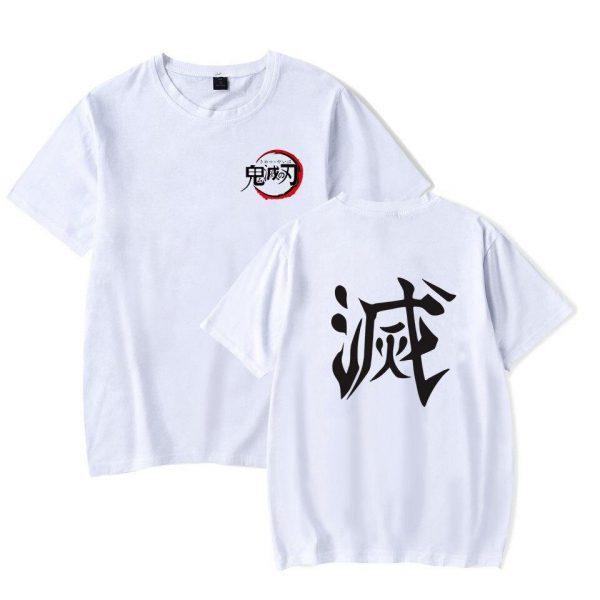 "Demon Slayer T-Shirt  ""Destroy"" Kanji"