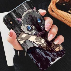 Demon Slayer iPhone Case Hashibira Inosuke