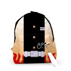 Demon Slayer Backpack </br> Rengoku Kyojuro Pattern