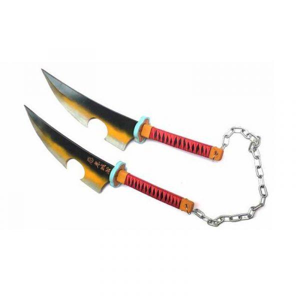 Demon Slayer Nichirin Blade </br> Uzui Tengen
