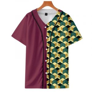 Demon Slayer Baseball Jersey </br> Giyu Tomioka Pattern