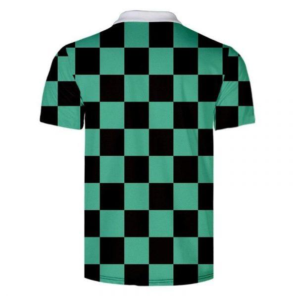 Demon Slayer Polo Shirt  Tanjiro Kamado Pattern
