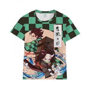 Demon Slayer T-Shirt Tanjiro & Nezuko Kamado Duo