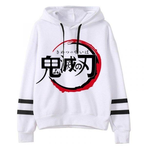 Demon Slayer Hoodie Japanese Logo