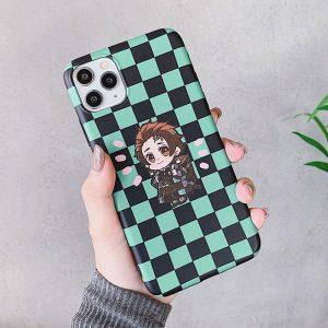 Demon Slayer iPhone Case </br> Tanjiro Checkered Design