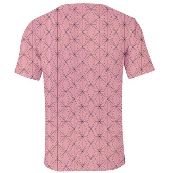 Demon Slayer T-Shirt Nezuko Pattern