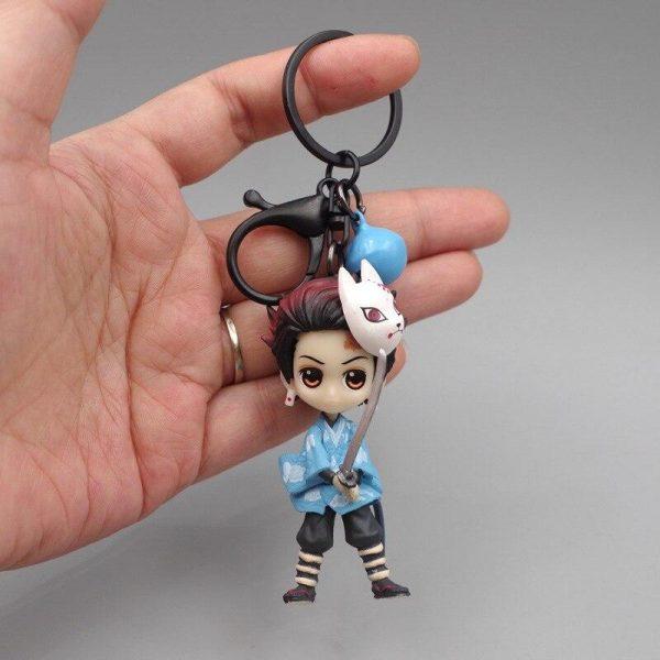 Demon Slayer Keychain </br> Tanjiro Blue