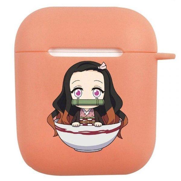 Demon Slayer AirPod Case Nezuko in a Bowl