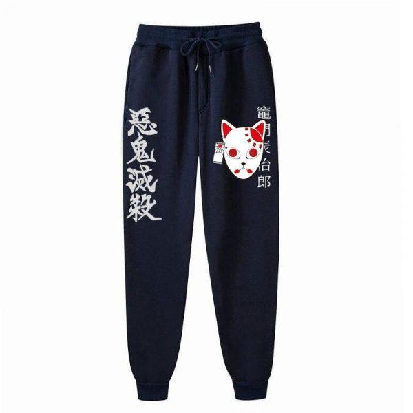 Kimetsu no Yaiba Pants  Tanjiro Streetwear  Mask&Hanafuda