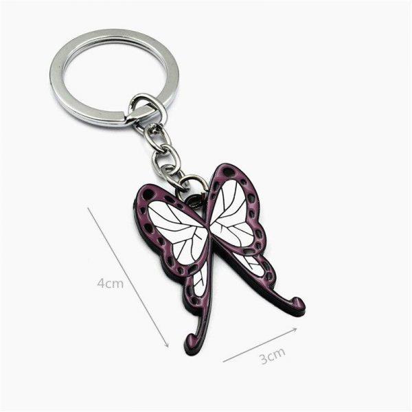 Demon Slayer Keychain </br> Shinobu Kocho Butterfly