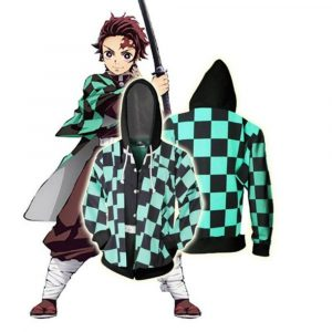 Demon Slayer Hoodie  Tanjiro Kamado Uniform