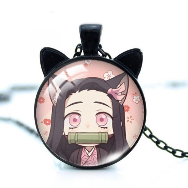 Demon Slayer Necklace </br> Neko Nezuko