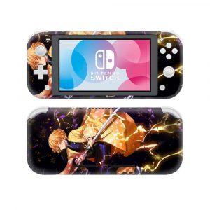 demon slayer Nintendo Switch case Zenitsu