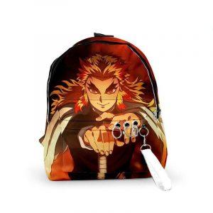 Demon Slayer Backpack </br> Rengoku Flame Pillar