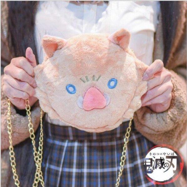 Demon Slayer Hand Bag </br> Inosuke Hashibira