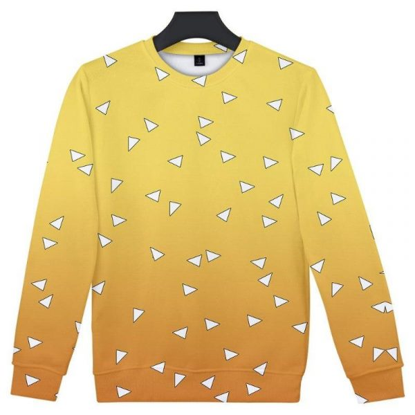 Demon Slayer Sweatshirt  Zenitsu Agatsuma Pattern