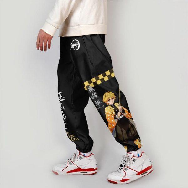 Demon Slayer Pants  Zenitsu Streetwear