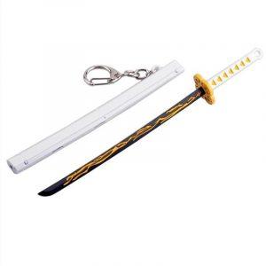 Demon Slayer Keychain Zenitsu Sword