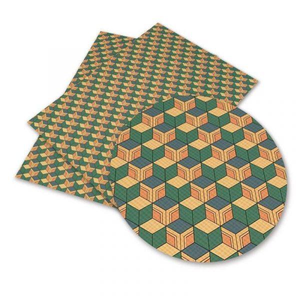 Demon Slayer Fabric </br> Giyu Tomioka Pattern