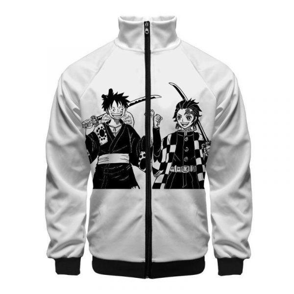 Demon Slayer Jacket Tanjiro & Luffy
