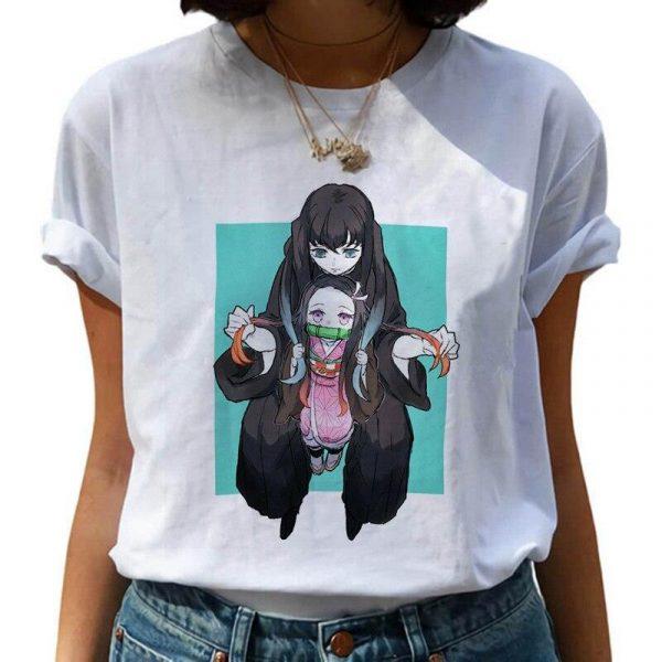 Demon Slayer T-Shirt  Muichiro & Nezuko