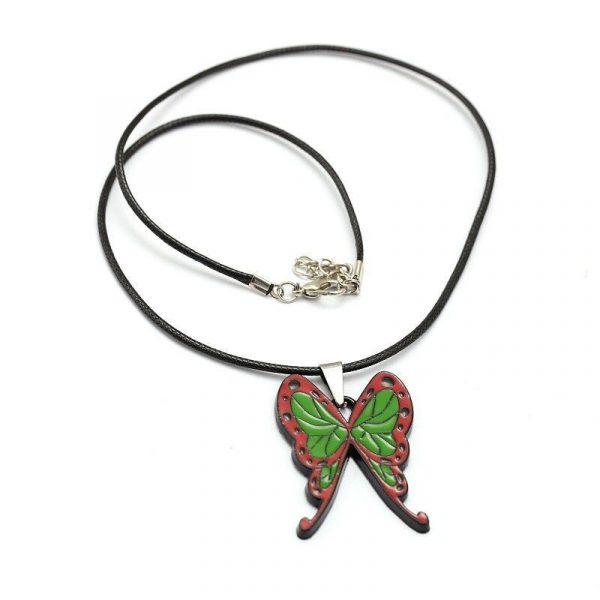 Demon Slayer Necklace </br> Kanao Butterfly