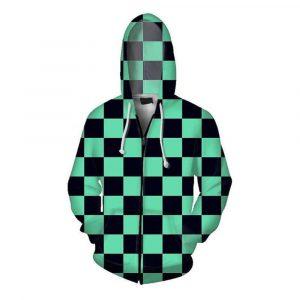 Demon Slayer Jacket </br> Doma Pattern