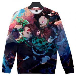 Demon Slayer Sweatshirt  Tanjiro & Nezuko