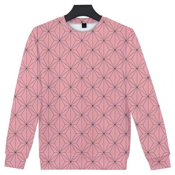 Demon Slayer Sweatshirt  Nezuko Kamado Pattern