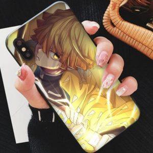 Demon Slayer iPhone Case </br> Zenitsu Sheathing of Blade