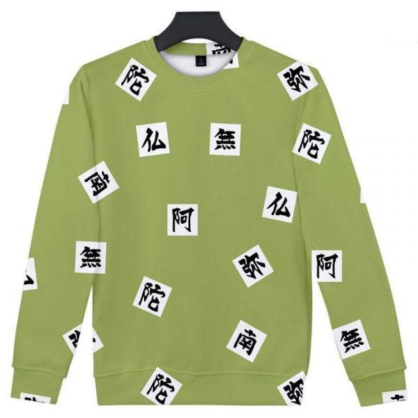 Demon Slayer Sweatshirt  Gyomei Himejima Pattern