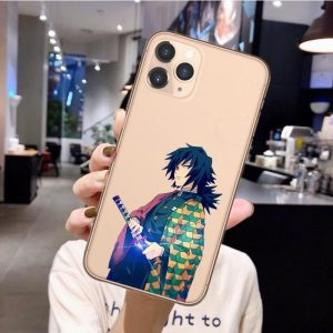 Demon Slayer iPhone Case Giyu Tomioka