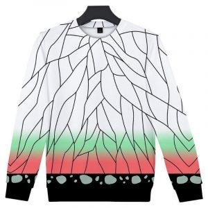 Demon Slayer Sweatshirt  Shinobu Kocho Pattern