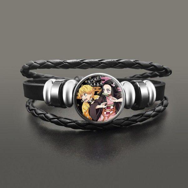 Demon Slayer Bracelet </br> Zenitsu & Nezuko