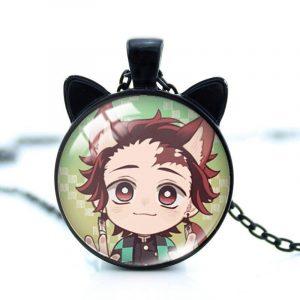 Demon Slayer Necklace </br> Neko Tanjiro