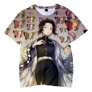 Demon Slayer T-Shirt Shinobu Moshi Moshi