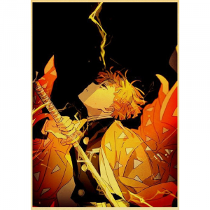 Demon Slayer Poster Zenitsu